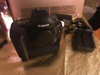 Canon 1d mk4 camera with charger and battery.