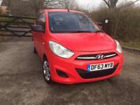 LOVELY 2014 I 10 HYUNDAI RED CAT C FULL SERVICE HISTORY ONE YEAR MOT LOW MILES 6000