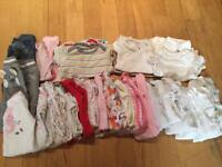 Big bundle of girls clothes aged newborn and upto 1 month old