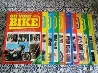 "Marshall Cavendish ""ON YOUR BIKE"" Magazines COMPLETE COLLECTION"