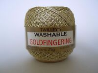 TWILLEY'S GOLDFINGERING KNITTING AND CROCHET YARN 25G SHADE 4 ANTIQUE GOLD