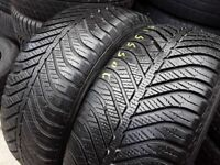 Part worn tyres / 205/55/16 / winter sets & pairs / london barking - 07961201205