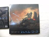 The Art of Halo 3 sealed and Halo 3 Essentials game