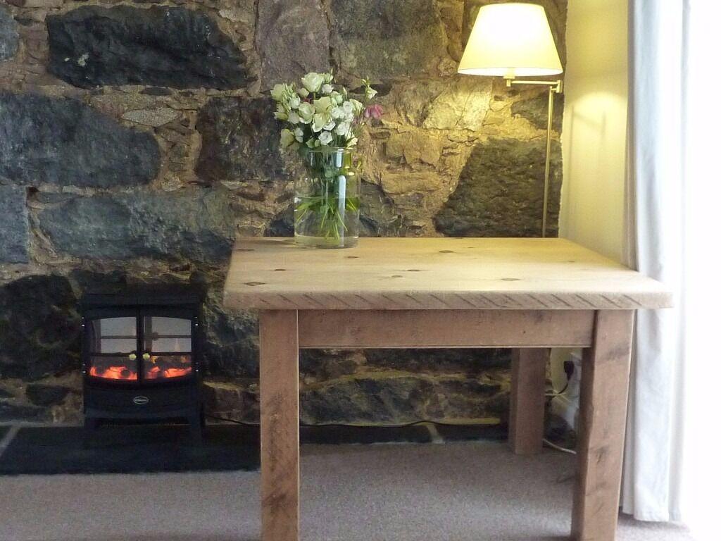 Pine Farmhouse Kitchen Table Solid Pine Farmhouse Kitchen Table In Ellon Aberdeenshire Gumtree