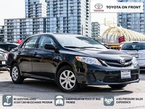2013 Toyota Corolla CE/ MOONROOF/ ONLY 46 KM