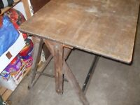 Old Drawing Table
