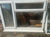 Upvc window frame and sliding doors