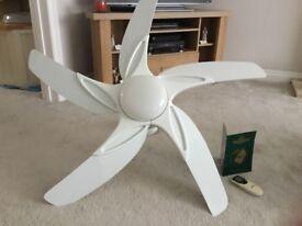 Fantasia luxury ceiling fan/ light