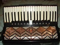 120 Bass Piano accordion, by Parrot,