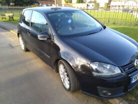 2008 Volkswagen Golf GT 3dr Black