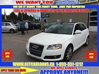 2010 Audi A3 2.0 TDI Clean Diesel with S tronic*LEATHER*ROOF*PA