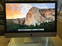 "Apple iMac A1312 27"" (Late 2009) - i7 2.8GHz, 2GB ATI Radeon, 8GB RAM, 2TB HDD"
