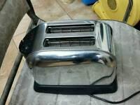 Sabichi 2 slice toaster stainless steel