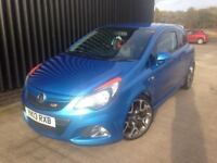 2013 vauxhall corsa 1.5 vxr low miles may px