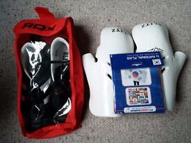 BlitzSport Shoes + Gloves + Flag