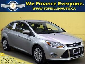 2012 Ford Focus SE, BLUETOOTH, Full Service Record, 67K