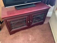 Free Glass TV bench