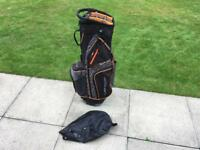 Dunlop Cart Trolley Golf Bag In Very Good Condition