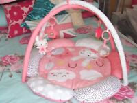 * BRAND NEW * Baby Floor Gym Pink Girl Never Been Used Smoke Free Home