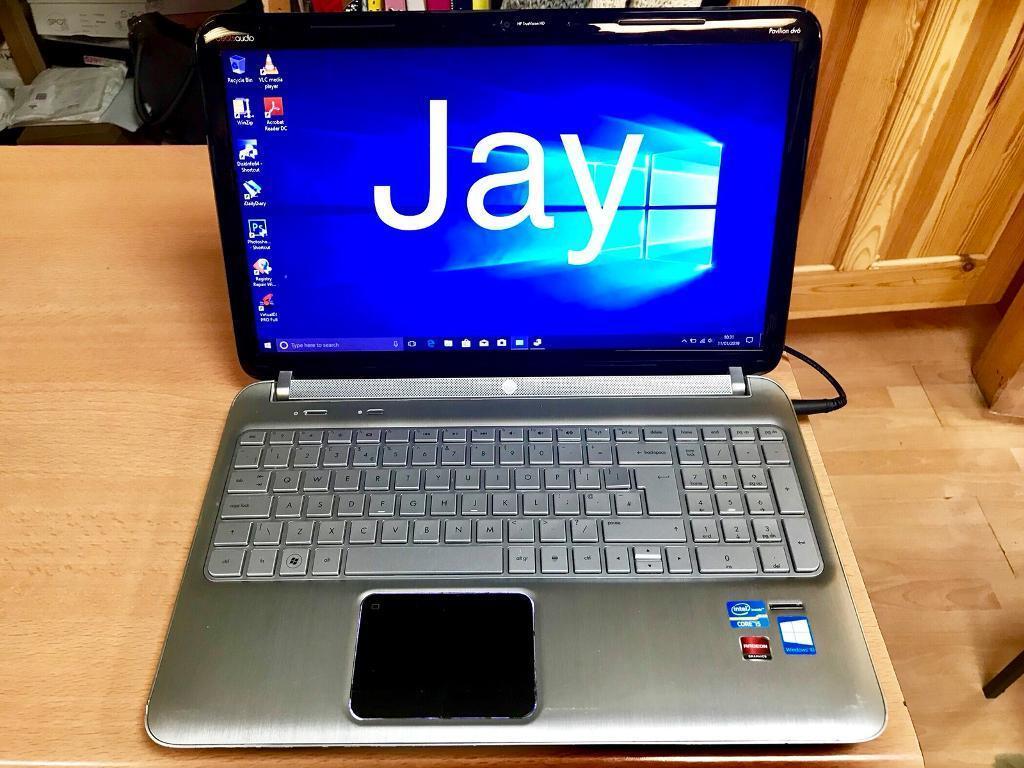 FAST i5 6GB HP Pavilion HD Beat audio Laptop 750GB