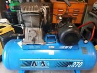 42cfm compressor 3 phase untested