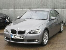 2007 (07 reg), Coupe BMW 3 Series 2.0 320d SE 2dr