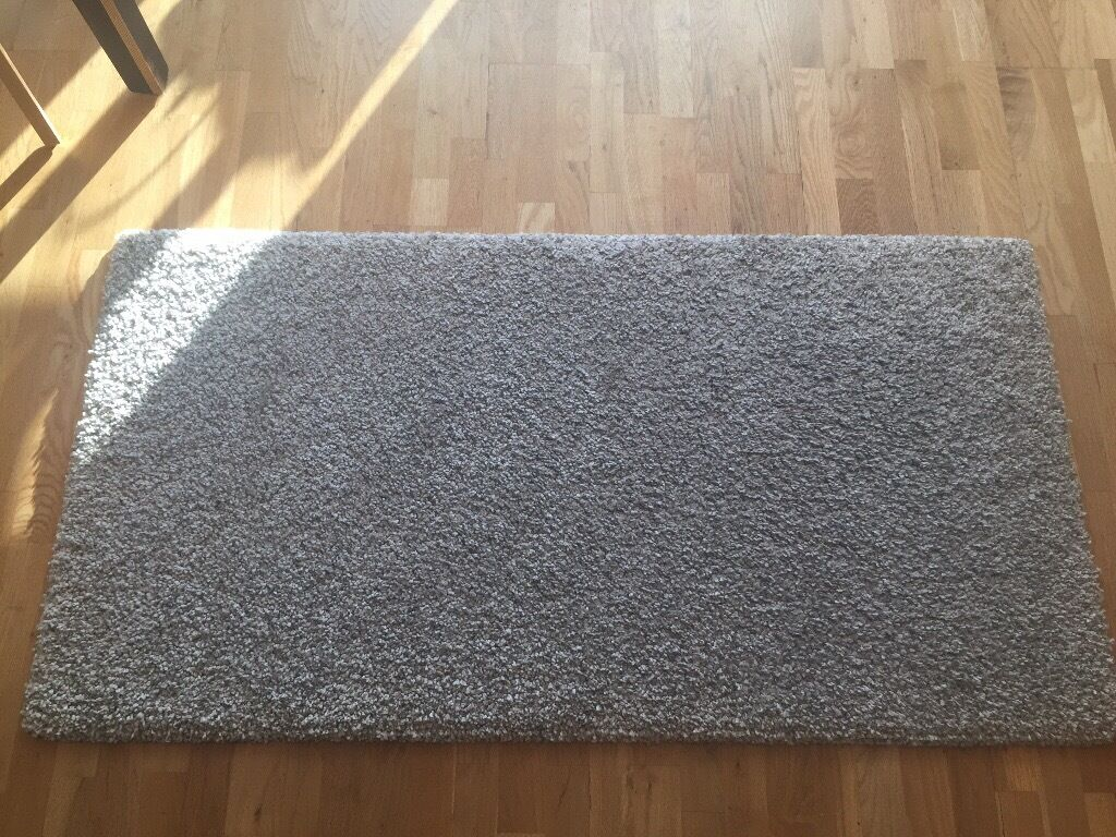 Light Grey Ikea Quot Alhede Quot Rug In London Gumtree