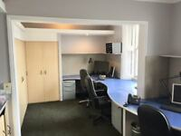 Office for up to 6 plus parking space in great Whiteladies Road location