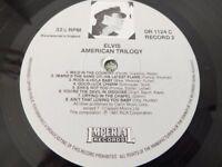 ELVIS PRESLEY 3 LPs BOX SET - AMERICAN TRILOGY - EXCELLENT CONDITION