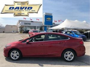 2017 Chevrolet Cruze 1LT TRUE NORTH/ SUNROOF/ REMOTE START/ REAR