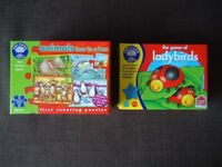 ORCHARD TOYS - Game of Ladybirds / Animals Four in a box jigsaws - £10 **FREE DELIVERY**