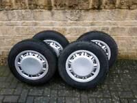 Vw t4 steel wheels with original vw hub caps
