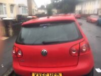 New job forces sale of my v golf gti.full history with 9 be stamps.recent full service.
