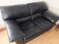 2-1-1 Black Leather Suite