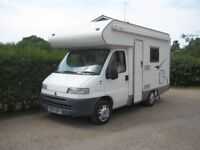Swift Sundance 1.9 litre 520 motorhome - 4 berth - great example of a well looked after van