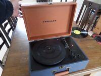 Crosley 'Keepsake' record player. Vintage style but modern, good sound, works well