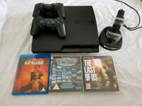 PS3 Slim + extras, perfect condition