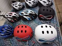 cycle helmets medium and large