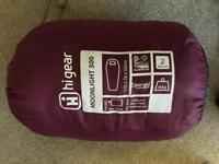 Kids unisex sleeping bag - 2 season