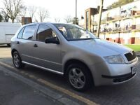 2002 SKODA FABIA 1.4 5 DOOR LONG MOT