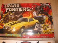 Scalextric Micro Set Transformer With Bumblebee and Barricade