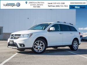 2016 Dodge Journey R/T+AWD+7 PASS+LEATHER+HEATED SEATS