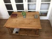 GENUINE VICTORIAN LARGE COFFEE TABLE FREE DELIVERY LDN🇬🇧🇬🇧