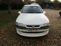 Vauxhall Vectra 2.5 V6. SRI.