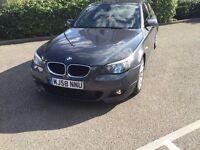 58 REG BMW 520D M SPORT SALOON AUTO