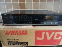 JVC HIFI TUNER FX-E77L FM /MW/LW/AM HI FI SEPERATE WITH ORIGINAL BOX ,DIGITAL DISPLAY ,VGC
