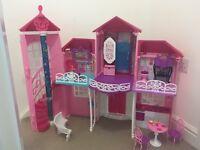 Barbie Malibu house/camper van/car
