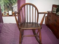 childs rocking chair by ercol