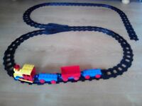 Duplo train and accessories