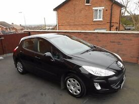 2009 peugeot 308 16 hdi{just serviced,finance,warranty ava,30 pounds tax}